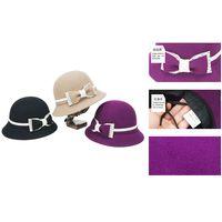 new style women wool bucket hat thumbnail image