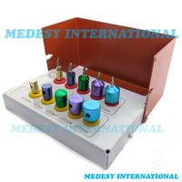 Dental Drill Implants Guide and Positioning Kit Titanium 10 PCS with Bur Holder thumbnail image