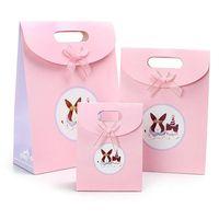 new design kraft paper bag,gift bag,shopping bag with handle in machine price thumbnail image