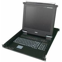 1/8/16 port 1U rackmount  17 inch LCD KVM switch thumbnail image