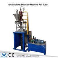 Automatc vertical PTFE ram extrusion machine for tube