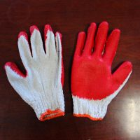 10g Latex coated gloves