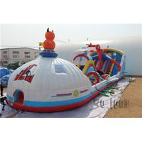 giant adult inflatable slide, inflatable bouncy castle