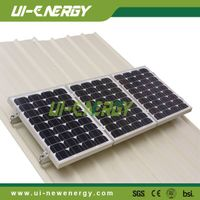 Residential PV solutions pitched tin roof solar panel mounting system