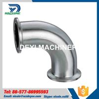 Stainless Steel 90 Degree Tri Clamp Elbow thumbnail image
