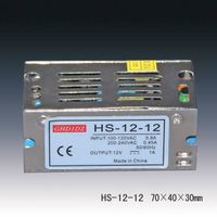 12v 1a Open Frame Switching Power Supplies