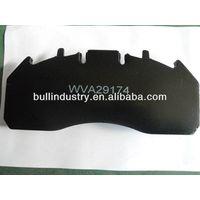 China Factory Non-Asbestos Truck&Bus Spare Part Brake Pad WVA29174