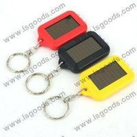 Cheap solar flashlight, 3 pcs LED light, hot sell products from isgoods!