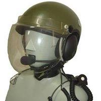 paragliding helmet headset