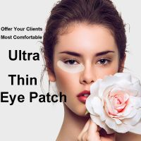 Ultra Thin Lint Free Eye Gel Patch For Eyelash Extension