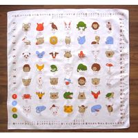 Promotional cotton printing big handkerchief customized cotton printing square bandana, head wrap 22 thumbnail image