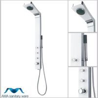 AMA-6504 Tempered glass shower panel