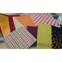 coloful airlaid napkin paper with printing