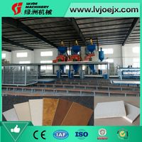Full Automatic Fireproof Magnesium Oxide Board Machine Production Line