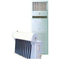 Hybrid vacuum tube energy saving system solar air conditioner