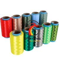 Colored UHMWPE fibre for braided fishing lines 100D