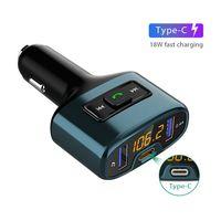 Handsfree Bluetooth Car Kit with USB-C Charging PD 18W