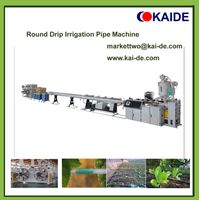 Round drip irrigation pipe production machine