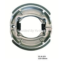Motorcycle Brake Shoe BAJAJ Boxer 100