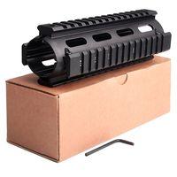 Ar 15 parts 223 Quad Rail Handguard AR-15 7 inch Carbine Length Picatinny ar 15 accessories AK mount