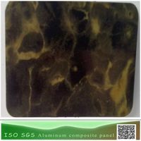 Stone color look aluminum comosite panel alucobond acp