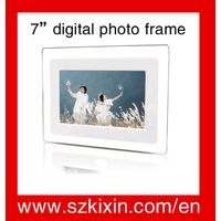 7 inch simple function digital photo frame k9070S