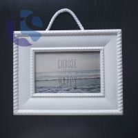 Home Decoration White Plastic Picture Frame