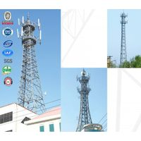 GSM hot dip galvanized communication tower