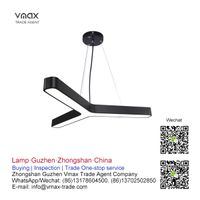 LED office pendant lamp buying agent in China, Guzhen | VMAX TRADE AGENT