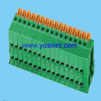 2.54mm Pitch PCB Spring Terminal Block right angle thumbnail image