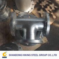 butt weld carbon steel pipe fittings weld flange ansi b16.9