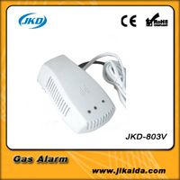 gas detector price with shut-off valve and exhaust fan