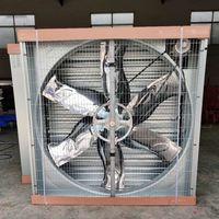 1380 Wall mounted waterproof ventilation fan exhaust fan for poultry farm and greenhouses