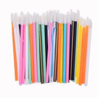 Wholesale cheap price Disposable Lip Brush Gloss Lipstick Wands Applicator Disposable Makeup wand thumbnail image