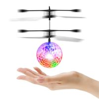 RC Toy, RC Flying Ball, Mini RC infrared Induction Drone Hand Suspension Helicopter Flying Balls thumbnail image