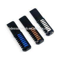 ES-HC-002 Single Head Tooth Comb Handle Temporary Dye Hair Chalk Comb