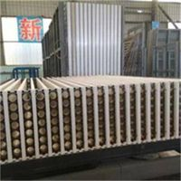 Hollow core light weight wall panel machine