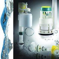 "Innovated quality toilet tank parts/ adjustable fill valve+3"" single flush"