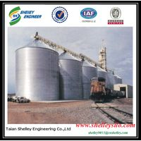10000t corrugated flat silo price