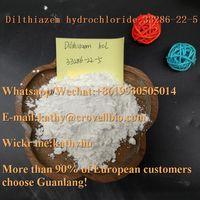 Low price high quality CAS 33286-22-5 Dilthiazem hydrochloride/Diltiazem HCl wickr:kathyliu