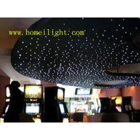 Flexible LED sky star curtain display in Theater, stage