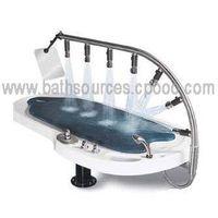 Hydro VICHY SPA bathtub / Luxury Vichy Rain Showers / Hydraulic Massage Bed