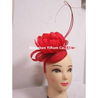 YRFC14196 flower fascinator,church fascinator,cocktail fascinator