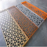 Aluminum Laser Cut Perforated Screen Panels And Decoration Partition Panel