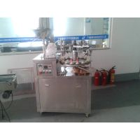 Automatic tube filling and sealing machine with printing function