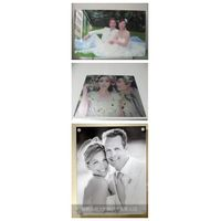 Perfect Acrylic wedding photo UV digital printing / beautiful wedding photo printing for lover gift