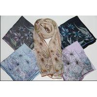 silk chiffon scarf thumbnail image