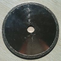 Continous rim Electroplated diamond blades