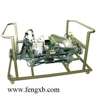Automobile transmission system of educational equipment for schools