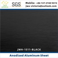 Brushed Anodized Aluminum Sheet, Anodized Aluminum Coil For Interior Decorative Materials thumbnail image